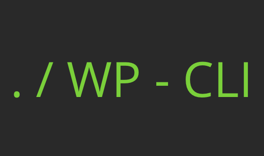 Productividad en WordPress con wp-cli