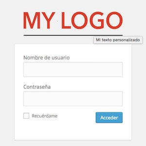 Login Wp Custom