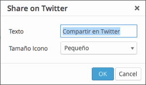 Back End Sharetwitter Visual Editor Popup